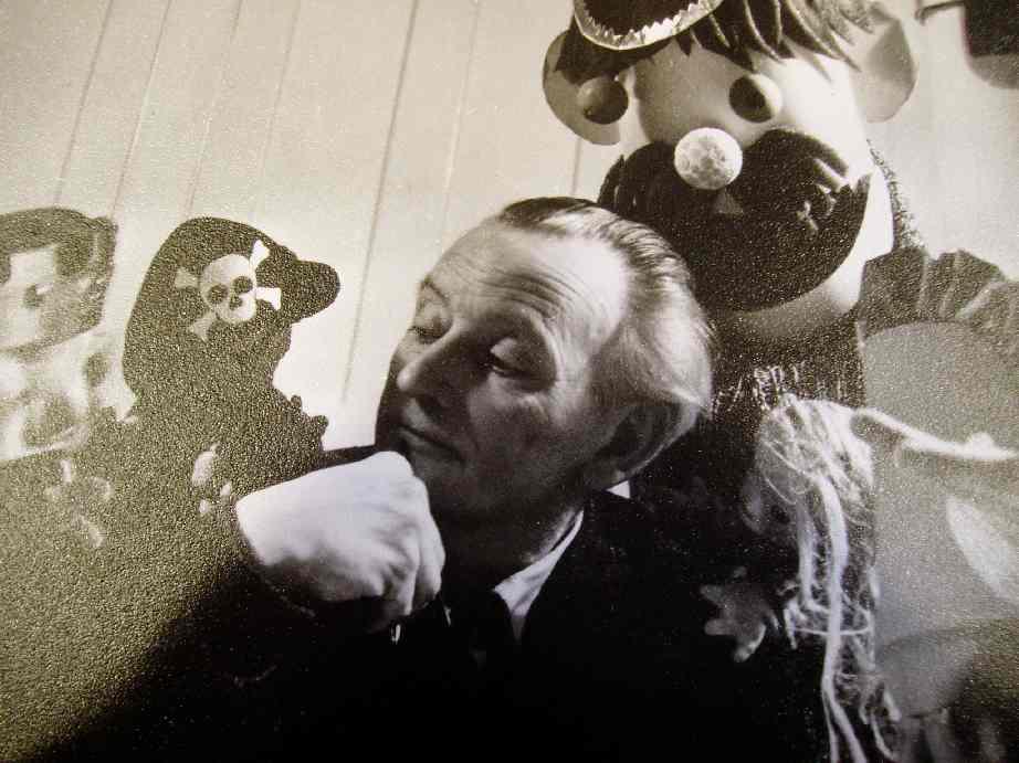 Pantopuck Philpott. Photo réproduite avec l'aimable autorisation de Collection : The National Puppetry Archive