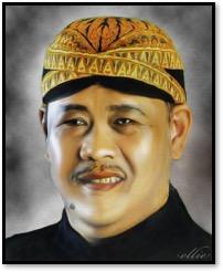 Asep Sunandar Sunarya (1955-2014),<em>dalang</em>de<em><em>wayang</em> golek <em>Sunda</em></em>de Java occidental. Photo réproduite avec l'aimable autorisation de UNIMA-Indonesia