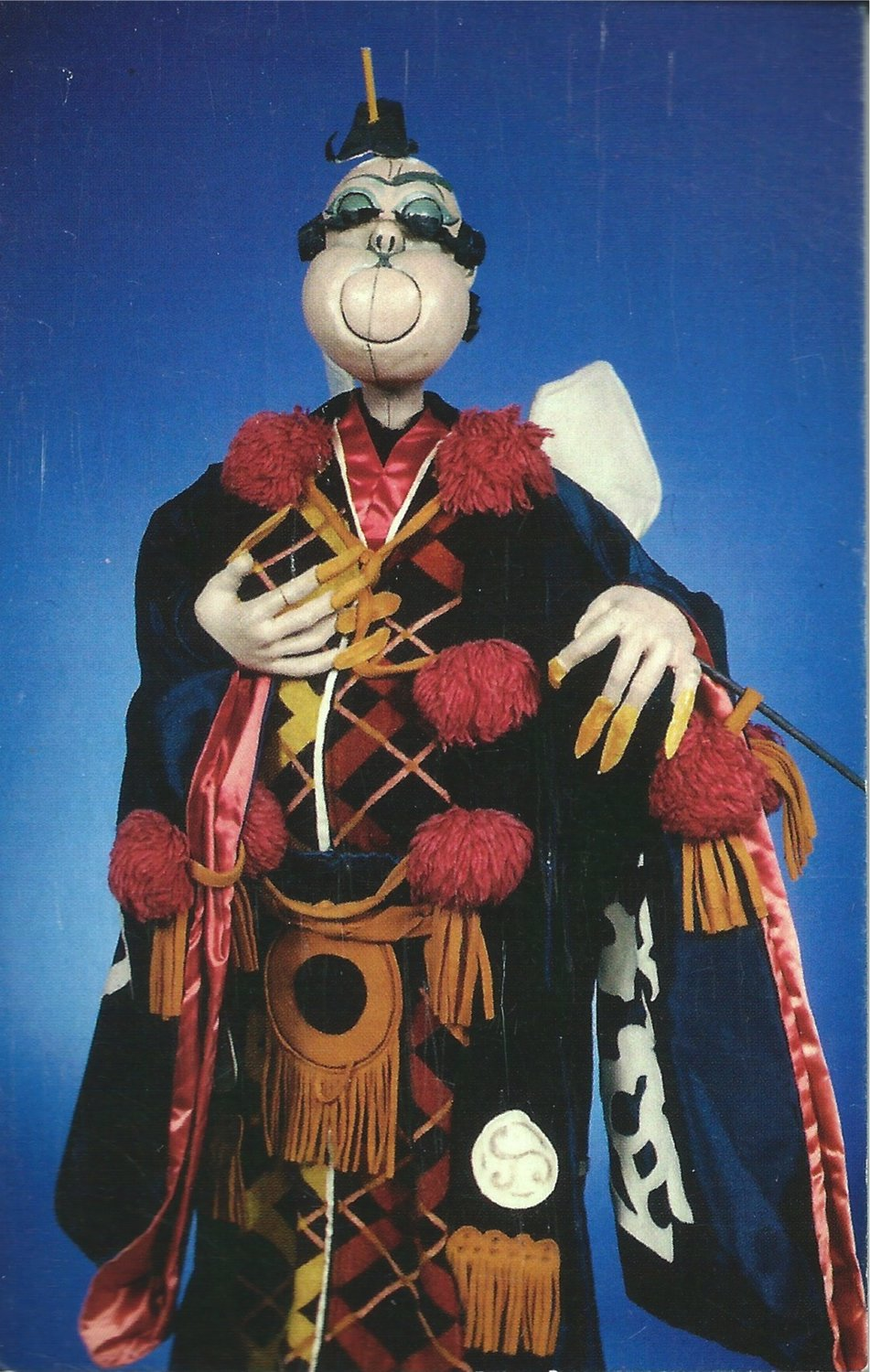 <em>Pooh-Bah</em>, from <em>The Mikado</em> (1968), design and direction: Frank Ballard for production at the University of Connecticut. Rod puppet. Photo courtesy of Ballard Institute and Museum of Puppetry at the University of Connecticut. Photo: Thomas A. Hoebbel