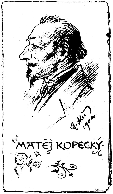 Una ilustra<em>c</em>ión del titiritero itinerante <em>c</em>he<em>c</em>o, Matěj Kope<em>c</em>ký (1775-1847), una figura legendaria del teatro de títeres <em>c</em>he<em>c</em>o. Fotografía cortesía de Archivo de Nina Malíková