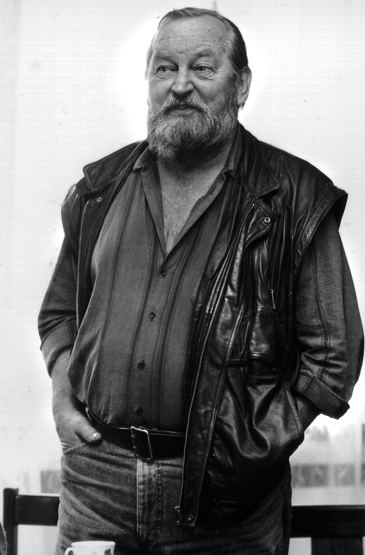 Jan Dvořák (1925-2006), artista visual, titiritero, dire<em>c</em>tor y profesor <em>c</em>he<em>c</em>o. Foto: Milan Janata