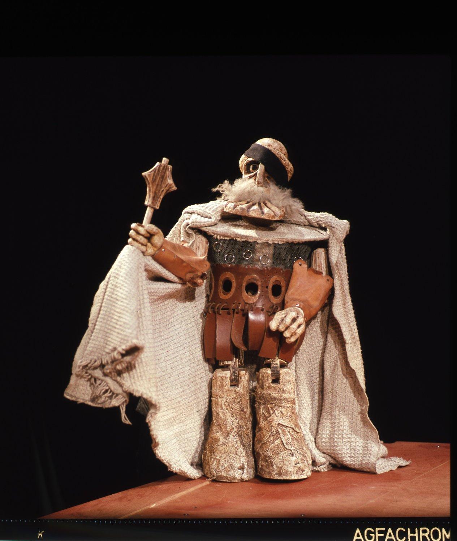 <em>Jan Žižka na hradě Rábí</em> (1974) por Jan Nepomuk Lašťovka, representado por Divadlo Alfa (Plzeň), puesta en es<em>c</em>ena: Karel Brožek, es<em>c</em>enografía: Petr Matásek. Foto: Oldřich Pernica