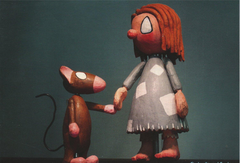 <em>Cinderella</em> et Fred, dans <em>Cinderella</em> (1968) par Dick Myers (1921-2005). Collection : Ballard Institute and Museum of Puppetry. Photo: Sarah Nolen