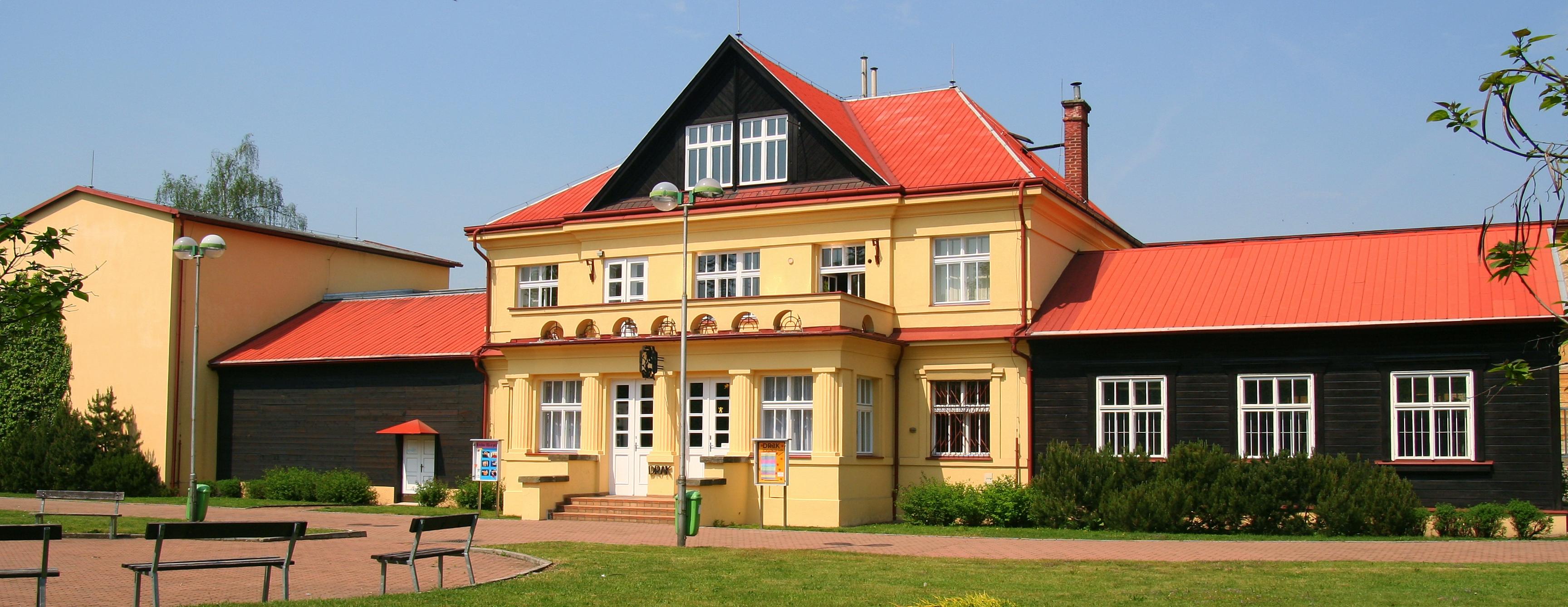 Exterior of Divadlo DRAK (Hradec Králové, Czech Republic). Photo courtesy of Archive of Loutkář