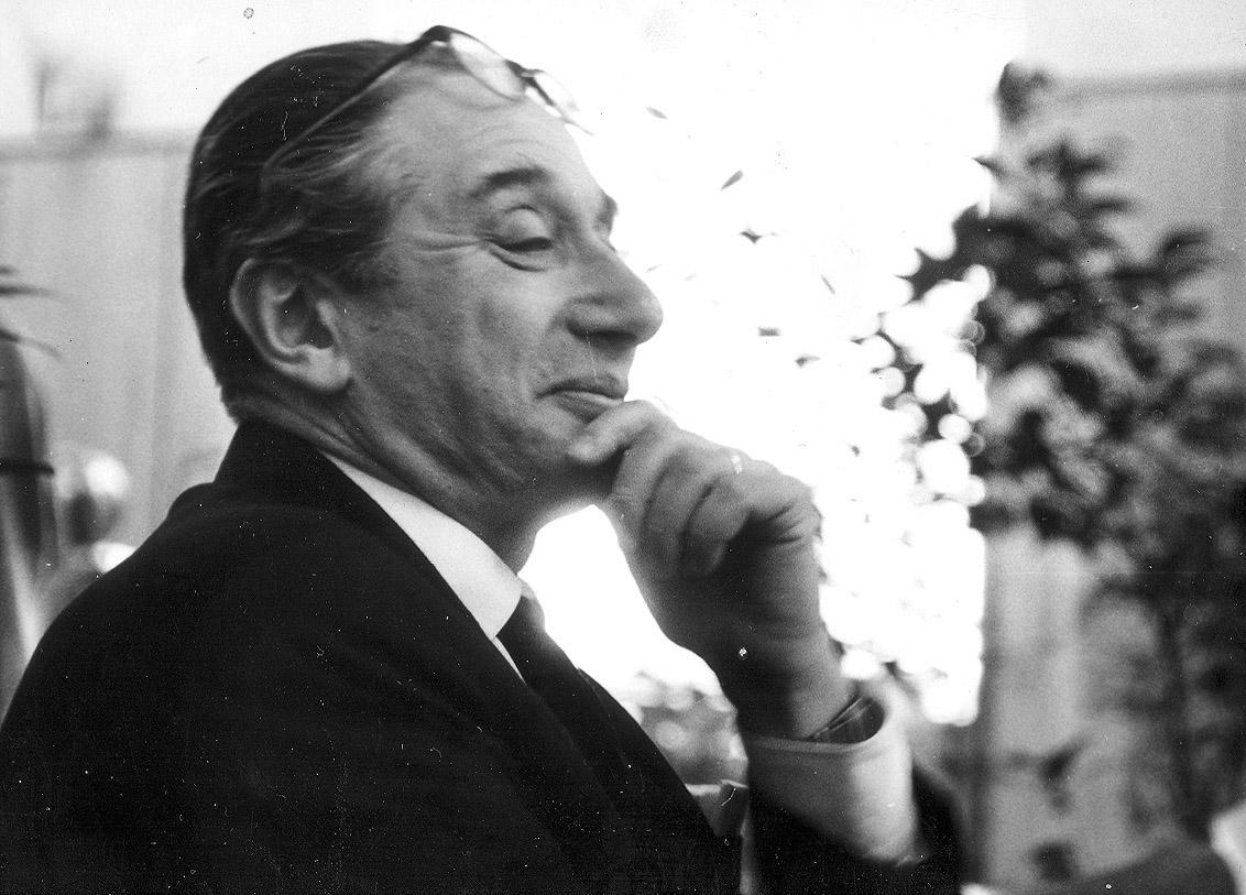 Erik Kolár (1906-1976), Czech puppet theatre director, dramaturge and pedagogue. Photo courtesy of Archive of Loutkář