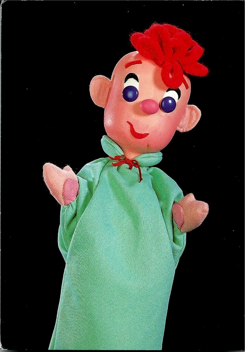 Wilbur, marionnette à gaine par le marionnettiste américain George Latshaw (1923-2006)