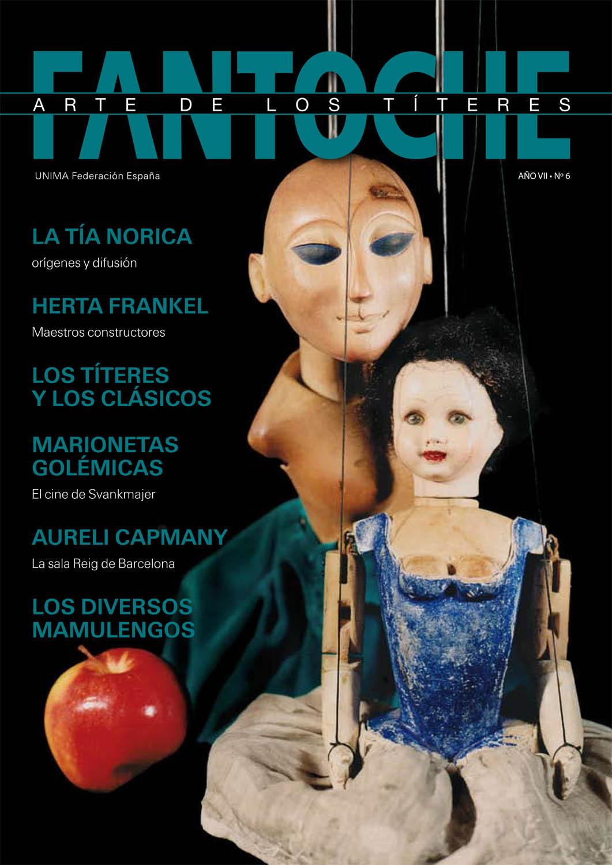 Fantoche: arte de los títeres, la revue de l'UNIMA Federación España avec l'article, « Herta Frankel » (Año VII, n° 6)