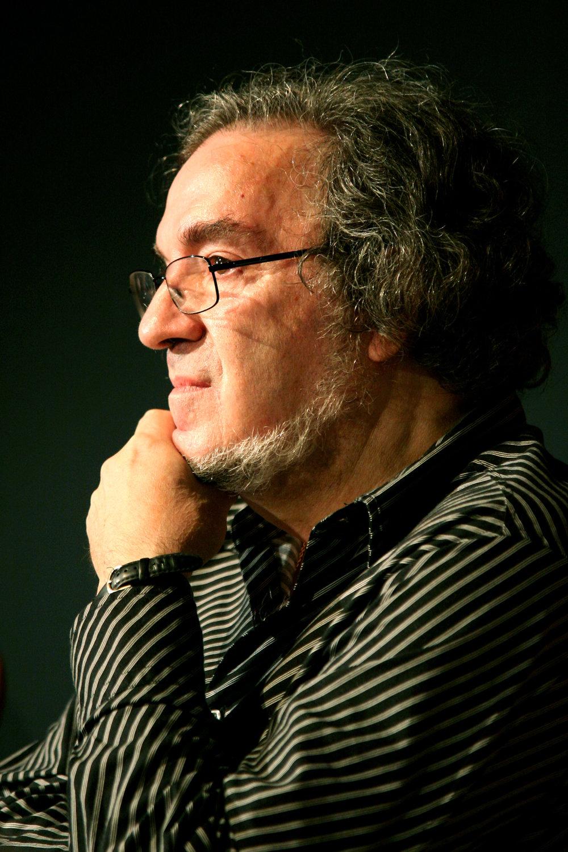 Luko Paljetak (1943), director en escena y actor, teórico del teatro de títeres, poeta, dramaturgo, traductor e investigador croata. Foto: Ivan Špoljarec