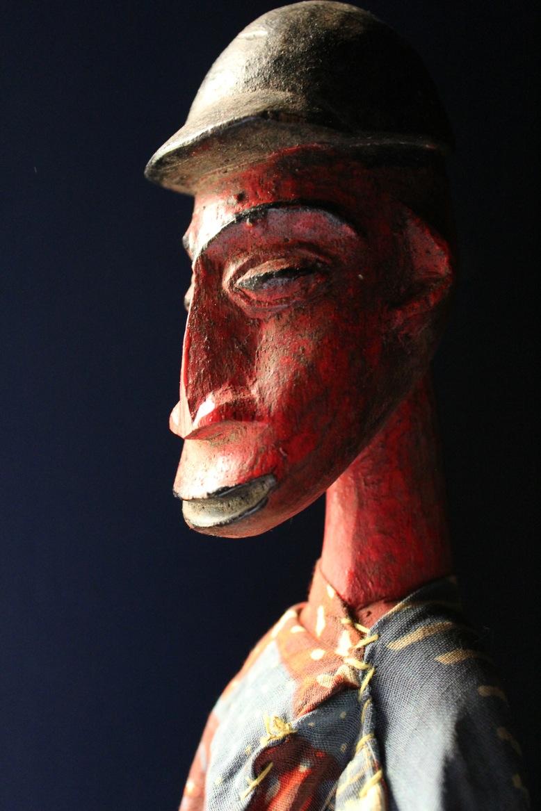 Marionnette à tiges des traditions Bozo du Mali, vers 1960. The Cook / Marks Collection, Northwest Puppet Center. Photo: Dmitri Carter