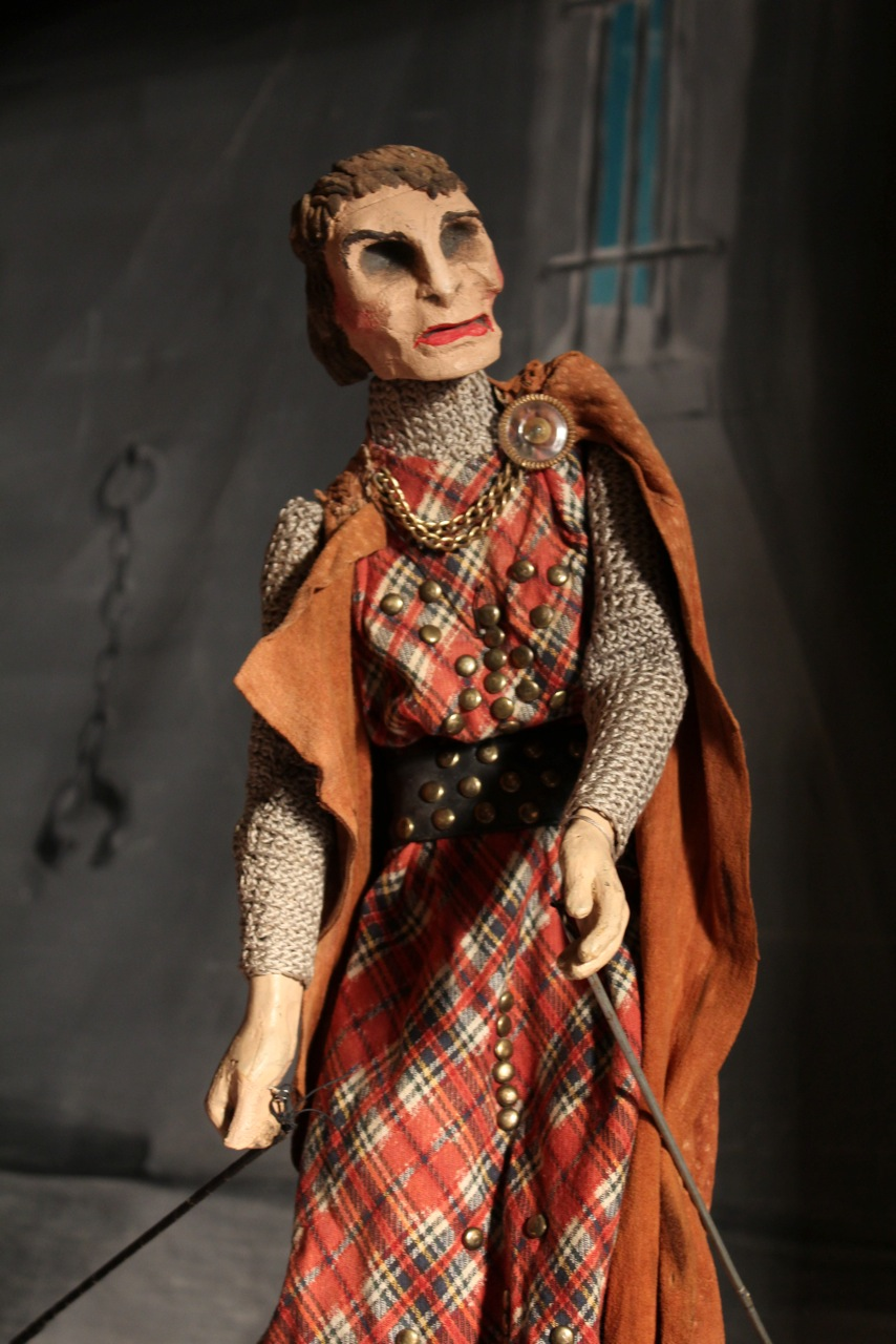 <em>Macbeth</em>, rod puppet, height: 47 cm, from <em>Macbeth</em> by American puppeteer Martin Stevens (1904-1983). Collection: The Cook/Marks Collection, Northwest Puppet Center (Seattle, Washington, United States). Photo: Dmitri Carter