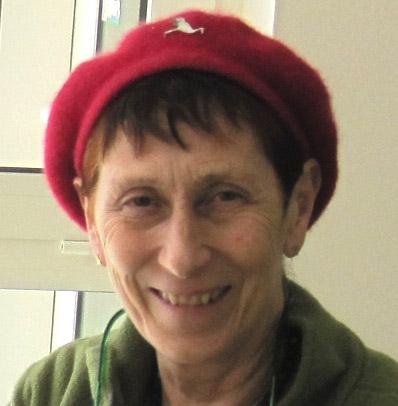 Meg Amsden, Chair of British UNIMA (2000-2013). Photo courtesy of Meg Amsden