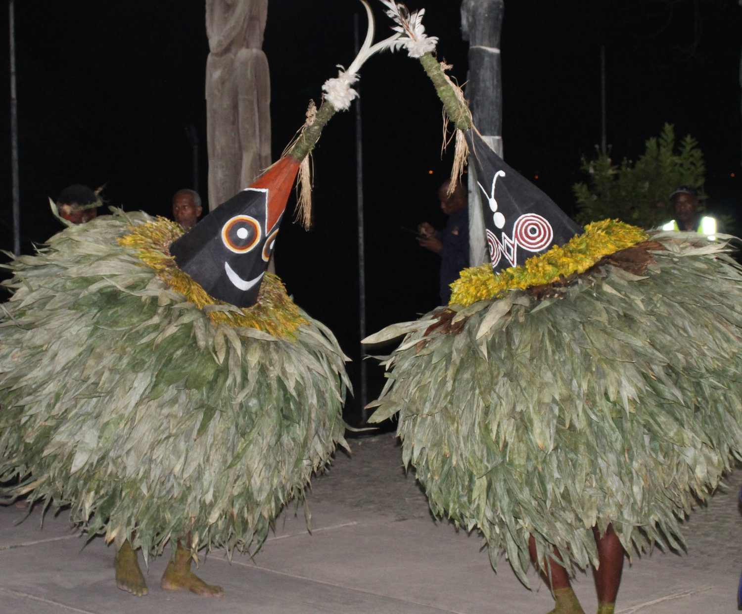 Tolai Tumbuan performan<em>c</em>e at the National Museum in Port Moresby, Papua New Guinea, in 2015. Photo: Judy Ryon