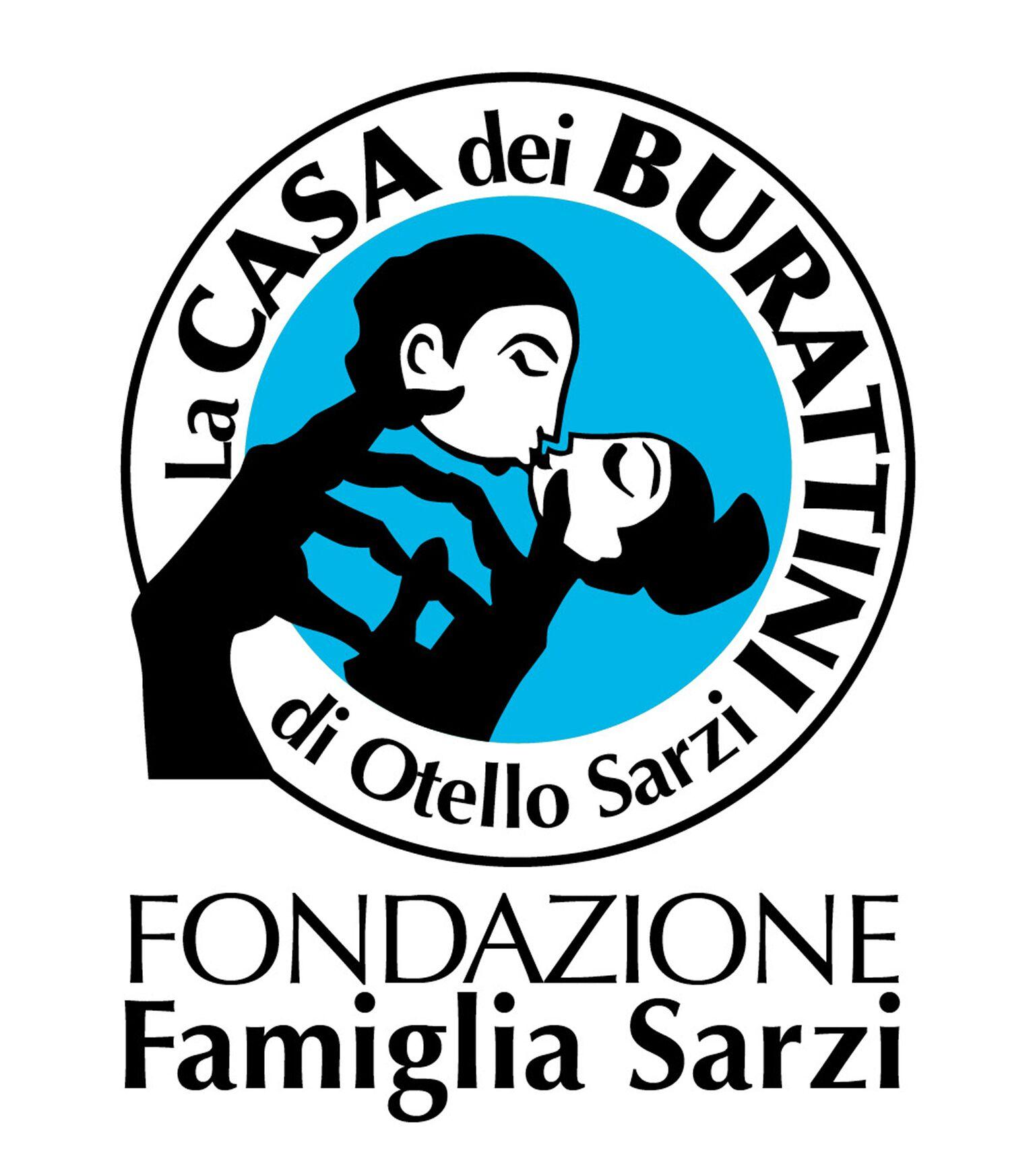 Logo de La Casa dei Burattini di Otello Sarzi, Fondazione Famiglia Sarzi. Photo réproduite avec l'aimable autorisation de Fondazione Famiglia Sarzi (Reggio Emilia, Italie)