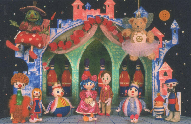 <em>Button Moon</em> « Snoring Princess » (les années 1980), séries télévisées par Playboard Puppets. Photo réproduite avec l'aimable autorisation de Ian Allen, Playboard Puppets