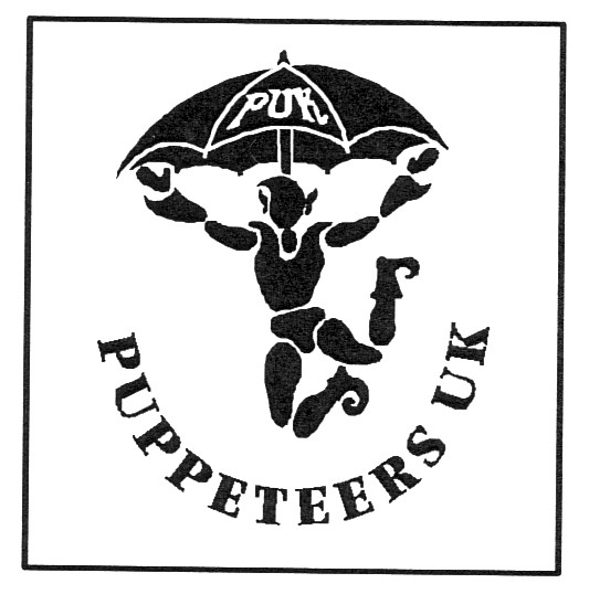 Logo (2016) de Puppeteers UK (PUK). Photo réproduite avec l'aimable autorisation de Puppeteers UK
