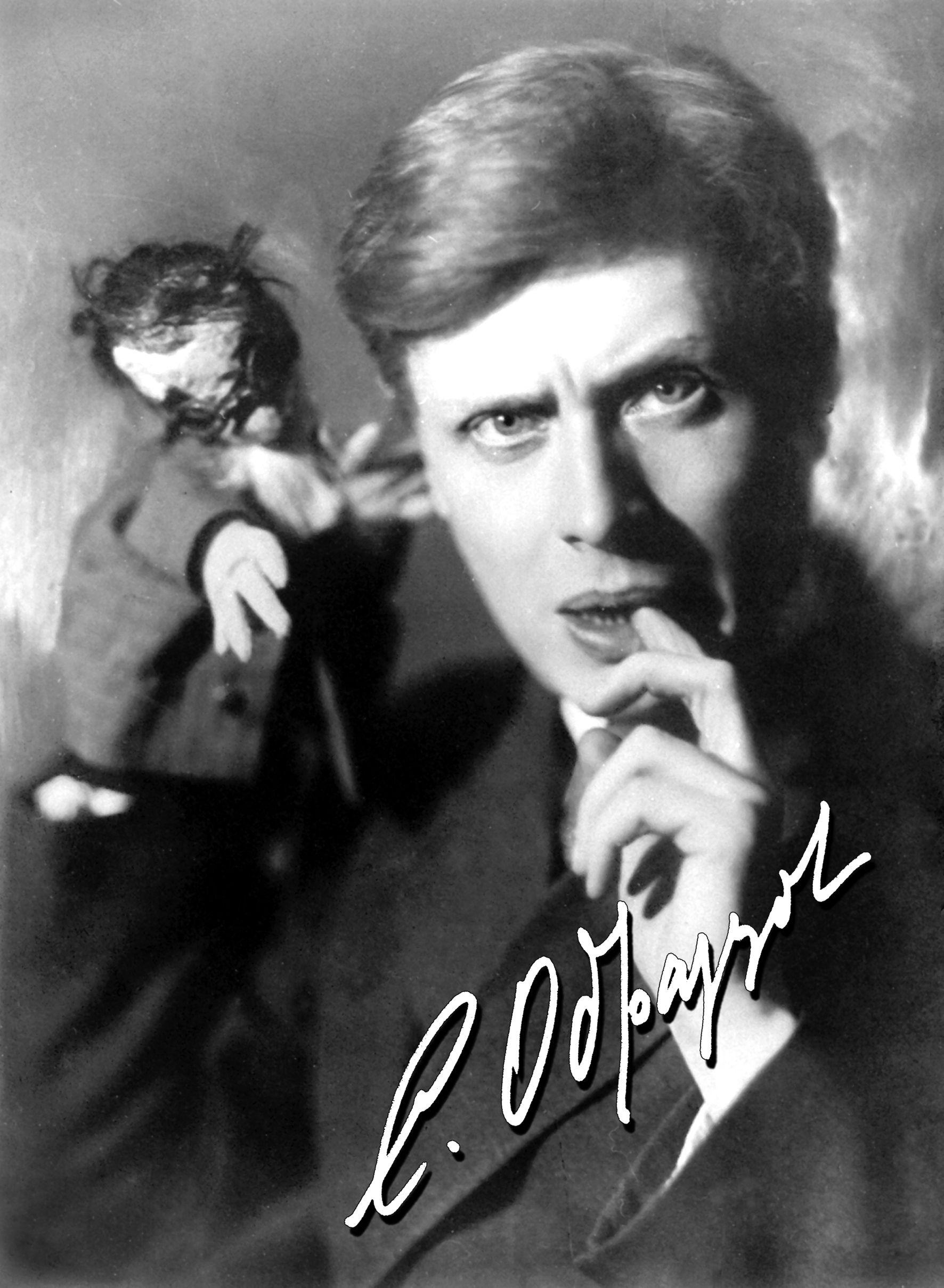 Sergueï Obraztsov (1901-1992), marionnettiste et personnalité du théâtre russe (photo des années trente). Photo réproduite avec l'aimable autorisation de Collection : Gosudarstvenny akademichesky tsentralny teatr kukol imeni S. V. Obraztsova, Musée de la Marionnette (Moscou, Russie)