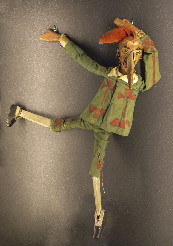 <em>Pinocchio</em> (1917), Teatro dei Piccoli of Vittorio Podrecca. Photo réproduite avec l'aimable autorisation de Collezione Maria Signorelli. Photo: Maristella Campolunghi / Teresa Bianchi