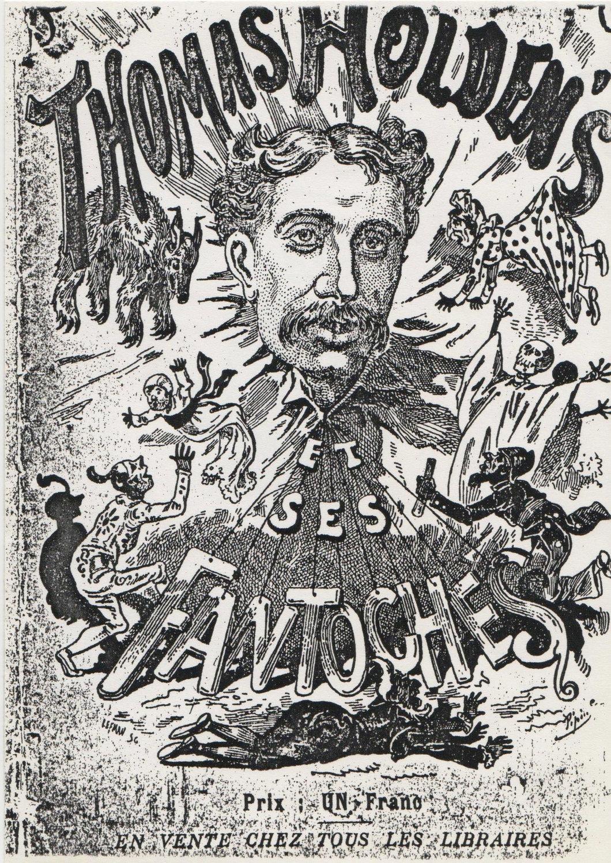 « Thomas Holden's et ses Fantoches » (vers 1879-1880). L'affiche de tournée pour les marionnettes de Holden. Photo réproduite avec l'aimable autorisation de The National Puppetry Archive