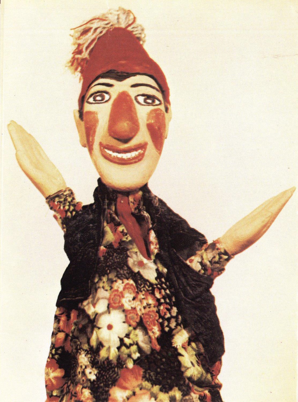 Le personnage de clown, İbiş, une marionnette à gaine turque (<em>Türk kuklası</em>). Photo réproduite avec l'aimable autorisation de UNIMA Turkey (UNIMA Turkiye)