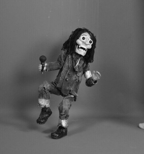 Une marionnette à fils de Hakan Arisoy. Photo réproduite avec l'aimable autorisation de UNIMA Turkey (UNIMA Turkiye)