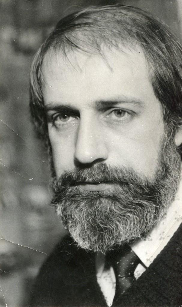 Viktor Chraïman (né en 1945), metteur en scène de théâtre et pédagogue russe (photo des années 1970). Photo réproduite avec l'aimable autorisation de Archive : Rossiyskiy tsentr UNIMA (Centre UNIMA Russie, Moscou, Russie)