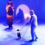 Antar<em>c</em>ti<em>c</em>a (première : 2016, Theatre Royal, Hobart, Tasmanie, Australie), dire<em>c</em>teur des marionnettes : Peter J. Wilson. Photo: Jason Bouvaird