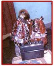 <em><em>Gulabo-Sitabo</em>,</em> les marionnettes à gaine traditionnelles d'Uttar Pradesh, en Inde. Photo réproduite avec l'aimable autorisation de Sampa Ghosh