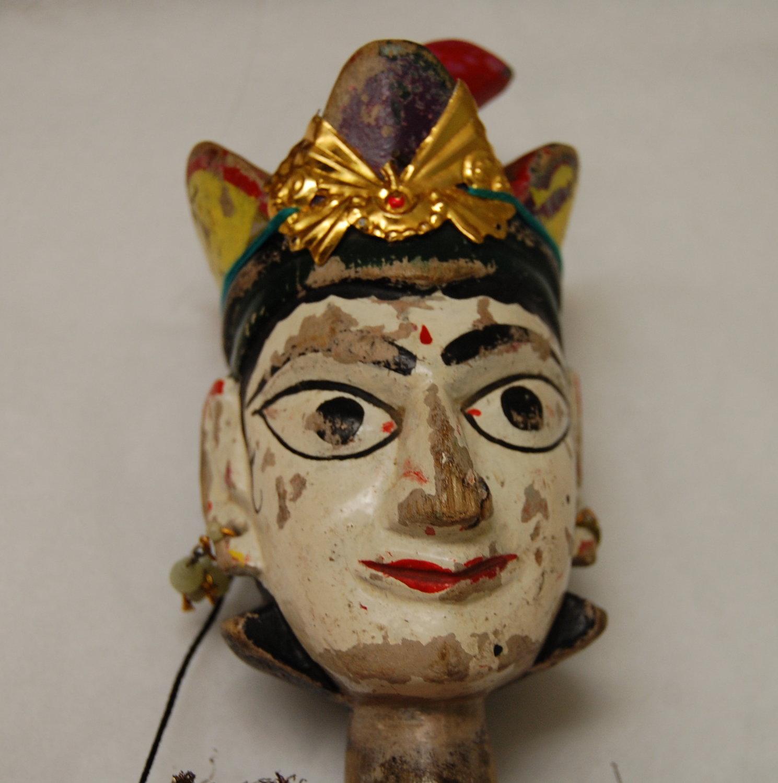 Un détail, Anarkali, la danseuse, une marionnette à fils, <em>kathputli</em>, du Rajasthan, en Inde, hauteur : 60 <em>c</em>m. Colle<em>c</em>tion : Center for Puppetry Arts (Atlanta, Géorgie, États-Unis). Photo réproduite avec l'aimable autorisation de Center for Puppetry Arts