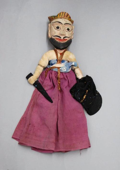 Un guerrier moghol, une marionnette à fils, <em>kathputli</em>, du Rajasthan, en Inde, hauteur : 55 <em>c</em>m. Colle<em>c</em>tion : Center for Puppetry Arts (Atlanta, Géorgie, États-Unis). Photo réproduite avec l'aimable autorisation de Center for Puppetry Arts
