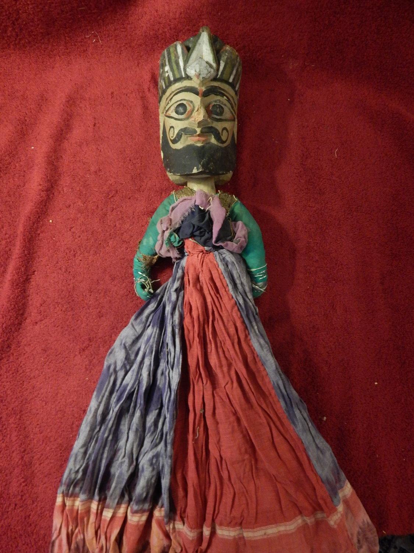 Une vieille <em>kathputli</em>, les marionnettes à fils du Rajasthan, en Inde. Photo: Karen Smith