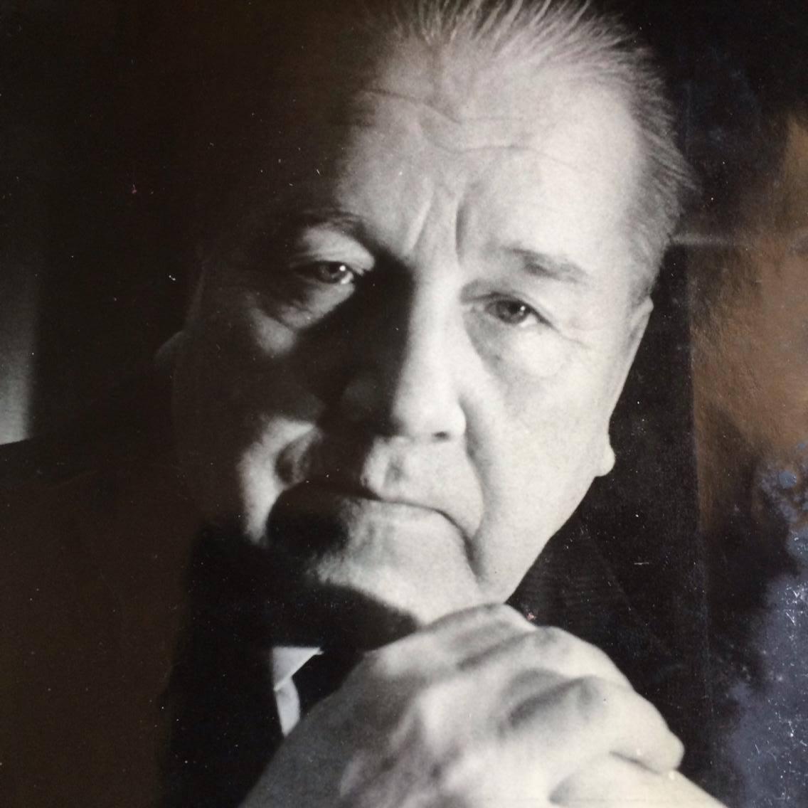 Viktor Afanasiev (1917-1987), Artiste du Peuple de la République ukrainienne, metteur en s<em>c</em>ène, a<em>c</em>teur, dire<em>c</em>teur artistique et dire<em>c</em>teur général du Théâtre de Marionnettes d'État de Kharkiv, édu<em>c</em>ateur, organisateur et président du Département du Théâtre de Marionnettes à l'Institut d'Art de Kharkiv. Photo: O. Vyshkin