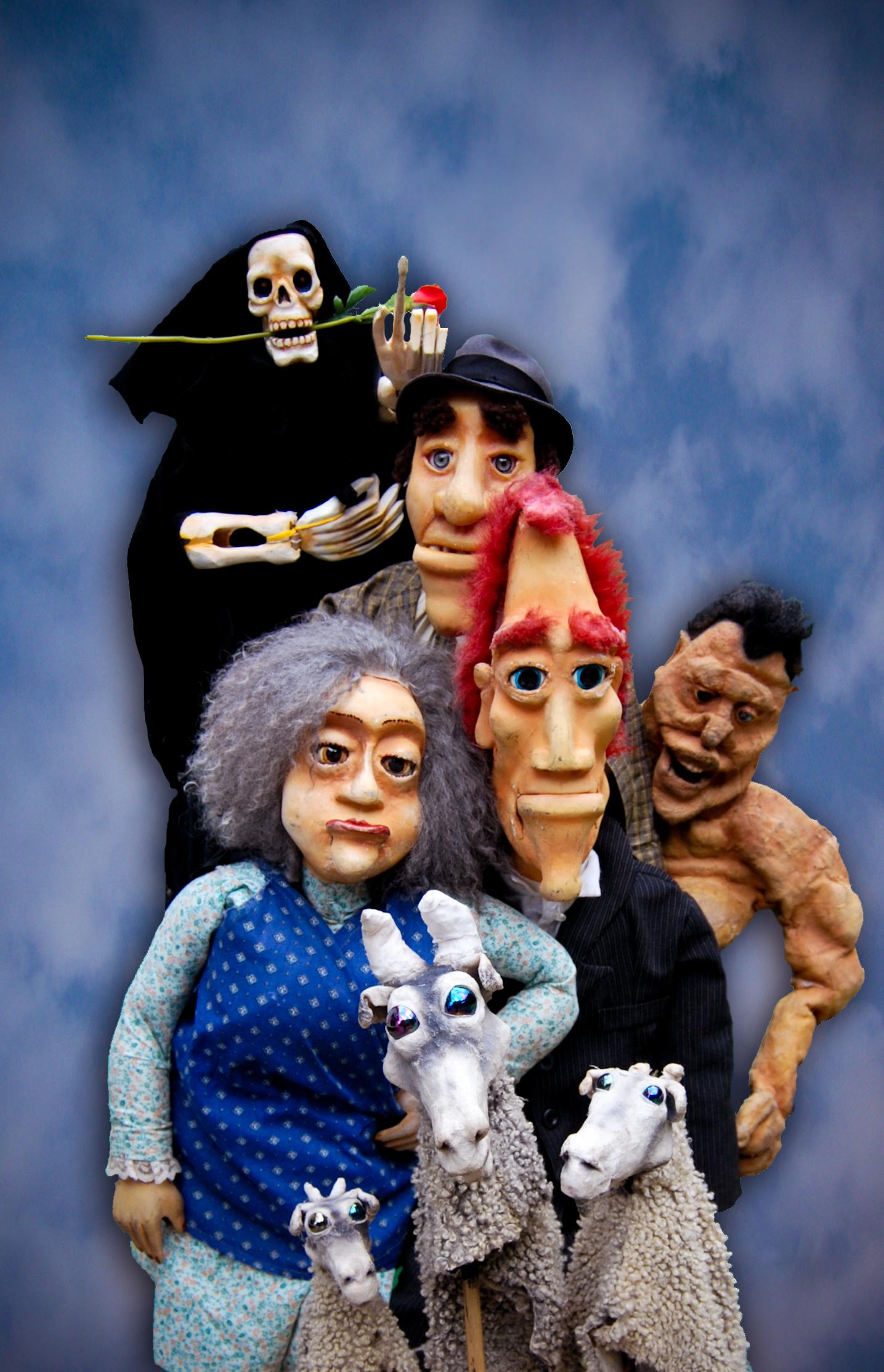 <em>The Variety Show</em> par Thomas Baker de Your Man's Puppets (Galway, Irlande)