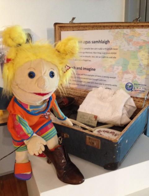 <em>Maggie</em> par Little Gem Puppets (fondé en Irlande par Carmel Balfe en 2010)