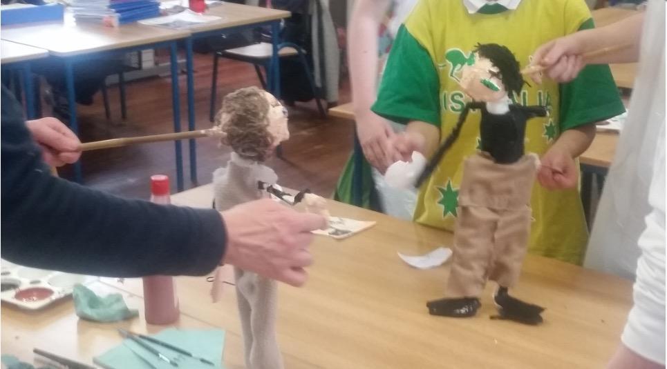 Un atelier de marionnettes par Little Gem Puppets (Irlande)