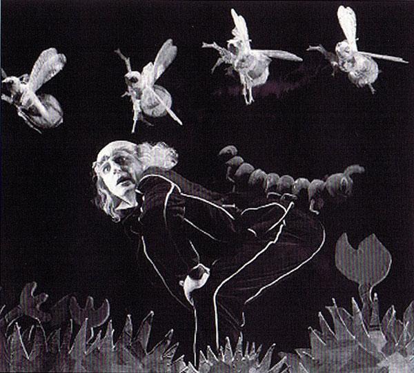 <em>Twinkle Twinkle Little Fish</em> (1998), directeur des marionnettes : Peter J. Wilson