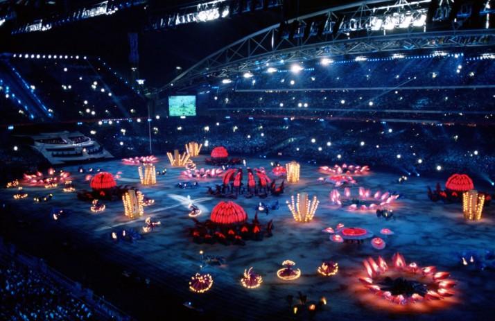 Cérémonie d'ouverture des Jeux Olympiques d'été 2000 (Sydney, Australie), segment « Nature », metteur en scène : Peter J. Wilson